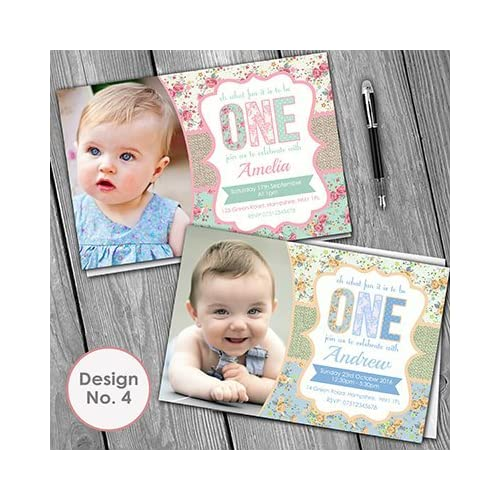 1st Birthday Invitations Invite Envelopes