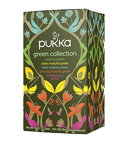 Green Collection PUKKA Tee BIO 4 Packungen à 20 Teebeutel