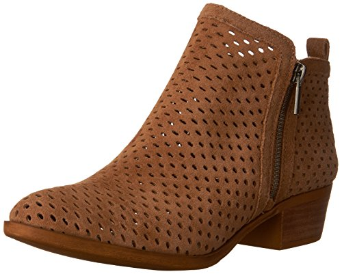 Lucky Brand Women's Basel 3 Ankle Boot,Sesame Oil Suede,US 7.5 M
