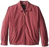 London Fog Men's Auburn Zip-Front Golf Jacket (Regular & Big Sizes), Burgundy, Large Tall by London Fog Men's Outerwear