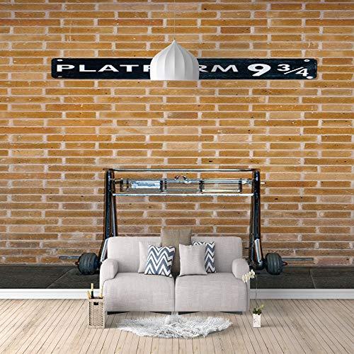 Behang Zelfklevende Olie Doek Muren 3D Muur Foto's Moderne Kunst Print Platform Home Decoratie 350cm(W) x256cm(H)-7 Stripes