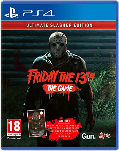 Friday The 13Th: The Game - Ultimate Slasher Edition Ps4- Playstation 4