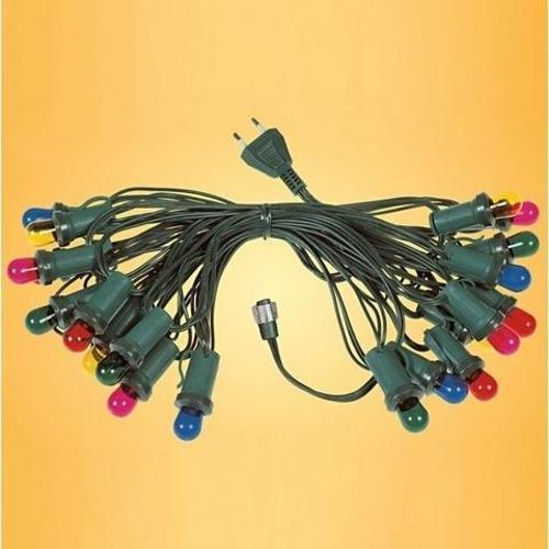 luci natalizie arteleta collana 20 luci chiare completa di cavo di alimentazione CN.20.CH