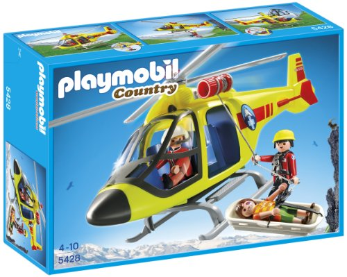 Playmobil Vida en la Montaña: Helicóptero