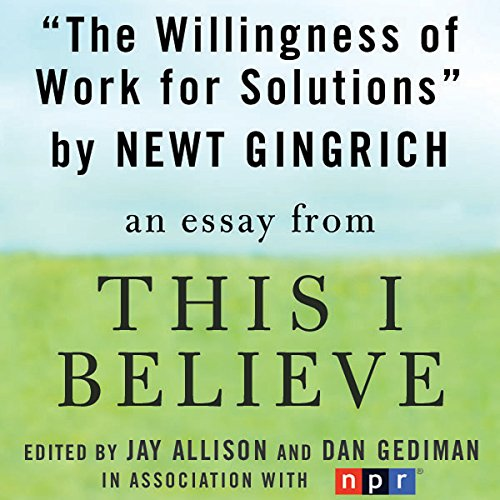 The Willingness to Work for Solutions audiobook cover art