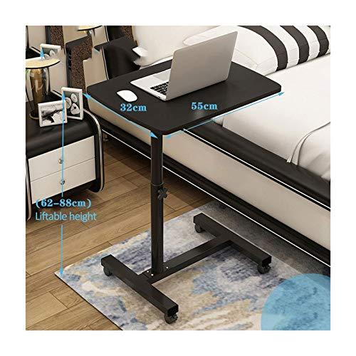 ALBBMY Mobiler Schreibtisch Laptoptisch Groß Höhenverstellbar Mobiles Rednerpult Mit Rollen Zum Bremsen Für Notebook (Color : Style4)