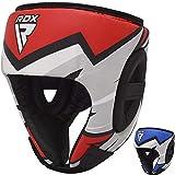 RDX - Casco de boxeo para niños, para sparring, artes marciales, artes marciales, kickboxing, Muay Thai, boxeo, krav Maga y karatè