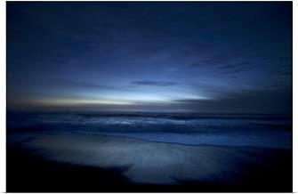 GREATBIGCANVAS Poster Print Moody Blue Ocean at Dusk, Big Sur, California by Scott Stulberg 18
