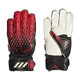 adidas Unisex-Child Pred Gl MTC Fsj Glove Liners, Black/Active Red, 7