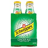 Schweppes Ginger Ale, 4 x 180ml