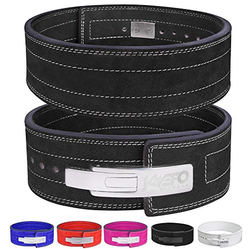 Jayefo Lever Belt (Black/Silver, M)