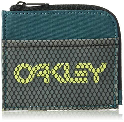 OAKLEY Herren 95155-9PE Reisezubehör- Dreifachgefaltete Brieftasche, Petrol, einheitsgröße