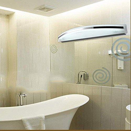 Hogar Baño Espejo Faros Baño Espejo Led Luces Delanteras Pintura Moderna Acrílico Inodoro Pared Baño Simple Antiestático Espejo Led Gabinete Luz (45Cm-9W, 58Cm-12W, 72Cm-15W) Bombilla incluida, Mi