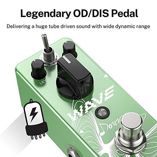 Donner Wave Delay - Pedal de efecto de guitarra con retardo digital Pure Analog True Bypass