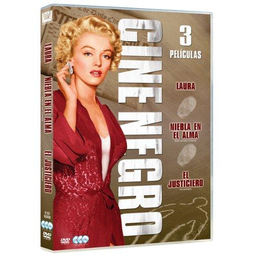 Pack: Cine Negro (Laura + Niebla En El Alma + El Justiciero) (Import Movie) (European Format – Zone 2)…