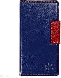 Natural Design FLAMINGO 手帳型 マルチサイズ対応 (マルチタイプ) ブルー