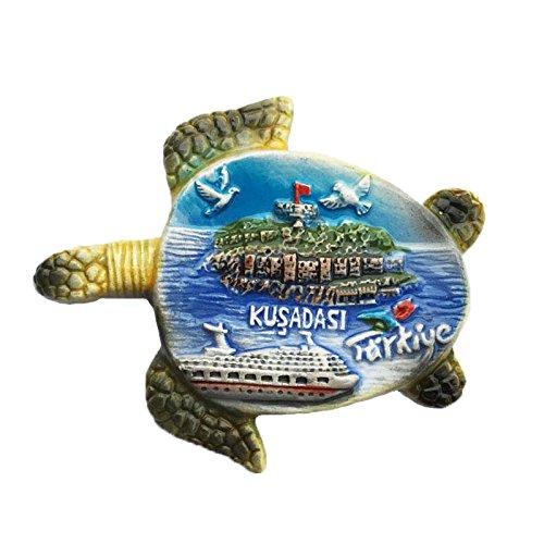 3D Schildkröte Kühlschrank Magnet, Türkei Tourist Souvenirs, KEMER Ocean Style Kühlschrank Magnet, Home und Küche Dekoration, Förderung Geschenk