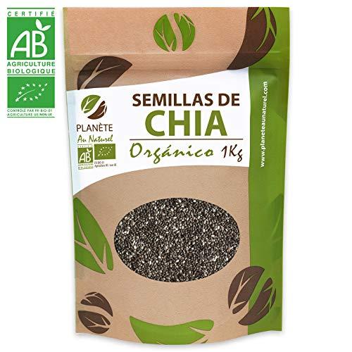 Semillas de Chia Orgánico - 1KG - Salvia hispanica