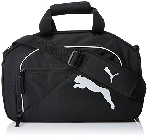 PUMA TEAM Medical Bag Tasche, black-white, 36 x 27.5 x 23 cm