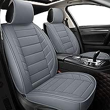 Car Seat Covers fit Sedan SUV fit for Impreza Outback Crosstrek Forester Legacy Tacoma Rav4 Corolla Camry Prius Fj Cruiser (Full Set, Gray)