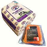 Queso Barra Sin Lactosa - Peso Aproximado 1500 gramos - El queso ideal que no puede faltar en las meriendas Ahora con Membrillo Goierri (Queso SIN Lactosa con Membrillo)
