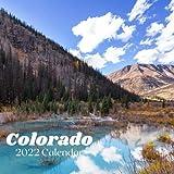 Colorado 2022 Calendar: Colorado Calendar 2022, Size 8.5 x 8.5 Inch,18 Month 2022-2023 Calendar 2022 For Women, Men, Kids & Colorado Lovers