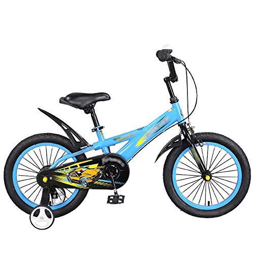 Byx Mountainbike voor kinderen, 4-8 jaar, afneembaar kinderwagen, extra fiets, blauw