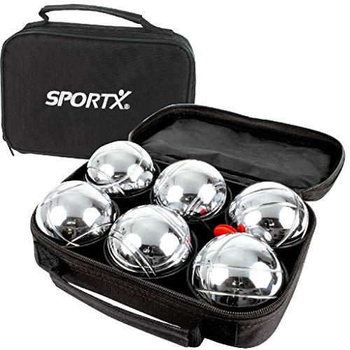 Ak Sport - 0713027 - Boules Et Pétanque - Sportx Jeu De Boules - Set De 6