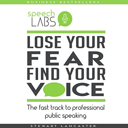 Lose Your Fear, Find Your Voice: The Fast Track to Professional Public Speaking audiobook cover art