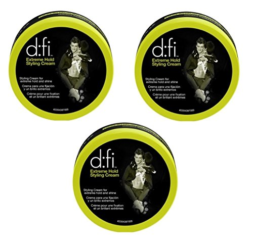 D:Fi Extreme Hold Styling Cream (3 Pack) 2.65 oz.
