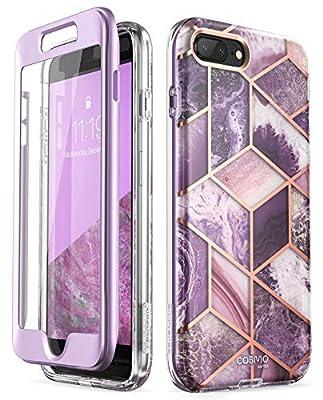 i-Blason Cosmo Glitter Clear Bumper Case for iPhone 8 Plus/iPhone 7 Plus