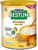 Nestlé - Papilla 8 Cereales con Miel Nestlé Nestum Expert 6m+ 600 gr