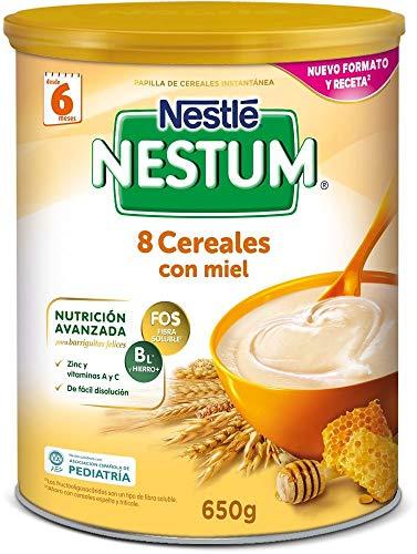 Nestlé - Papilla 8 Cereales con Miel Nestlé Nestum Expert