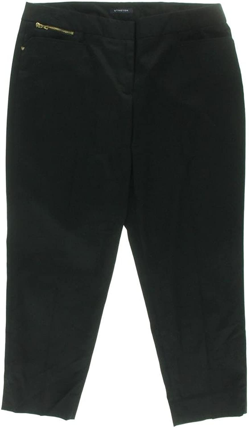 Jones New York Women's Stretch Ankle Pants, Black, 4P
