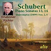 Schubert - Piano Sonatas No.13 and 14, Impromptus - Sviatoslav Richter