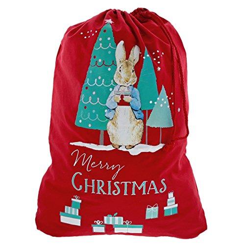 Beatrix Potter A29395 Sac pour Cadeau de Noël, Multicoloured, Taille Unique