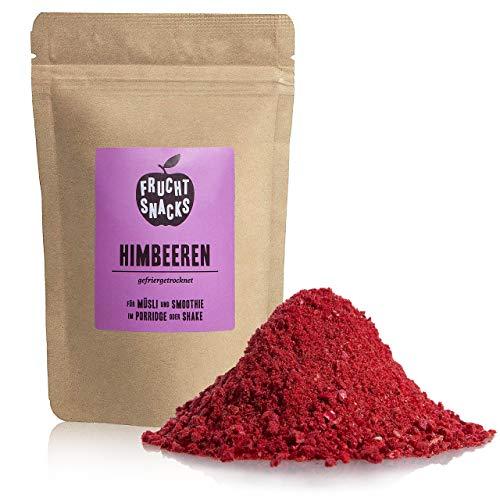 Himbeeren Fruchtpulver – 100% Himbeerpulver gefriergetrocknet und gemahlen, Himbeer Pulver vegan und ohne Zucker Zusatz, 100g