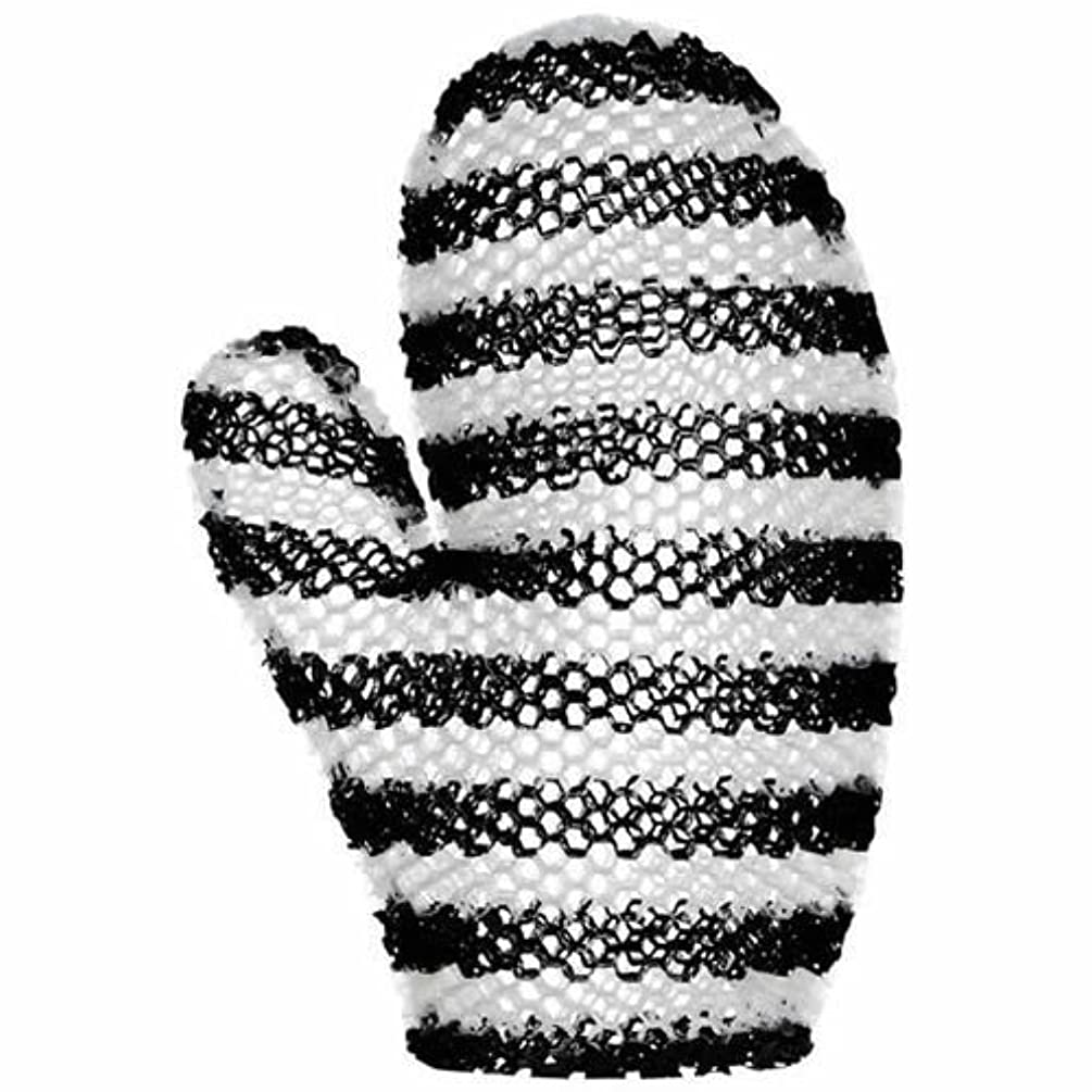 無線時刻表柔和スプラコール ハニカム(ミット) ブラック&ホワイト