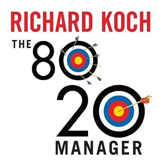 Couverture de The 80/20 Manager