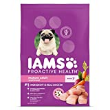 IAMS PROACTIVE HEALTH Small & Toy Breed Senior Dry Dog Food for Small...