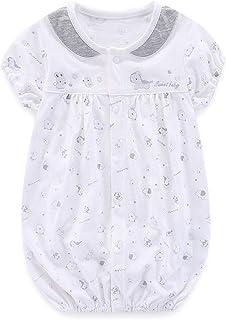 Boo.Kabee ベビー服 ロンパース 女の子 赤ちゃん 綿 出産祝い 誕生日 0~3ヶ月 BKB991