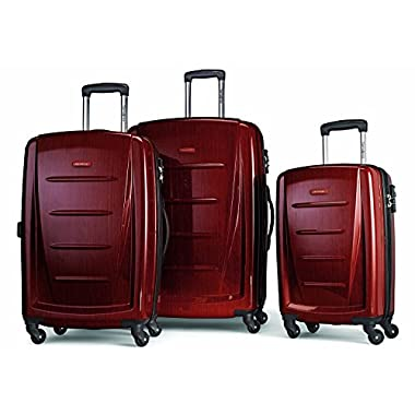 Samsonite Winfield 2 Fashion Hardside 3 Piece Set (Burgundy)