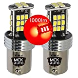 MCK auto P21W LED Canbus rosso lampadine BAY15d 1157 P21/5W 381 21/5W posteriore per Transit