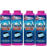 Finish Hard Water DishwasherVULMHj Powder Booster, 5X Power, Lemon Sparkle, 4Pack (14 oz)