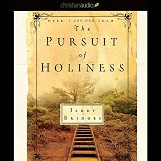 The Pursuit of Holiness audiobook cover art