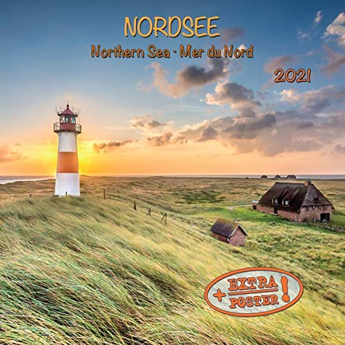 Image OfNorthern Sea/Nordsee 2021: Kalender 2021 (Artwork Edition)
