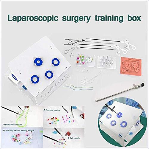 WSN Boîte de Formation pour Simulation de Chirurgie laparoscopique, kit de Suture Simulateur Matériel Chirurgical, y Compris Instruments et Accessoires pour la Pratique