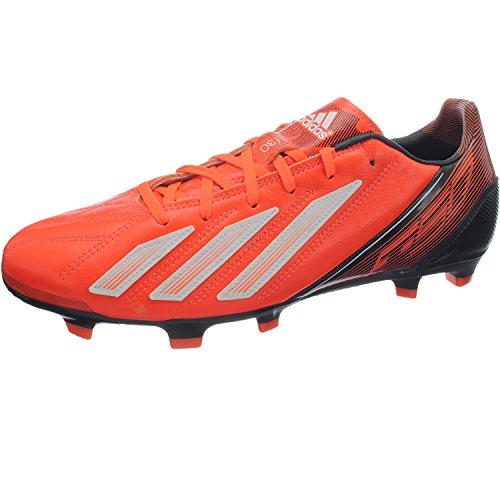 adidas adidas F30 TRX FG lea orange-weiß, Schuhgröße UK (D):6.5 (40.0)