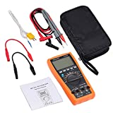 Proster VC97 Update Autorange Digital LCD Multimeter NCV Detector with Backlit, Tester for AC DC Voltage Current Resistance Capacitance Frequency Temperature Diode Circuit Continuity