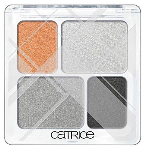 Catrice Edition limitada Graphic Grace palettre cuatro sombra de ojos de color C02Architectual Arts (naranja), tonos gris), 2.5g, 0.08oz.